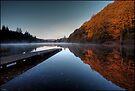Loch Ard, Autumn colour by David Mould