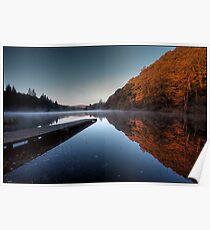 Loch Ard, Autumn colour Poster
