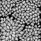 Hand-Drawn Pattern | Leaves Doodle Pattern by coloringiship