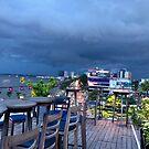 Storm brewing, Phnom Penh  by Martina Nicolls
