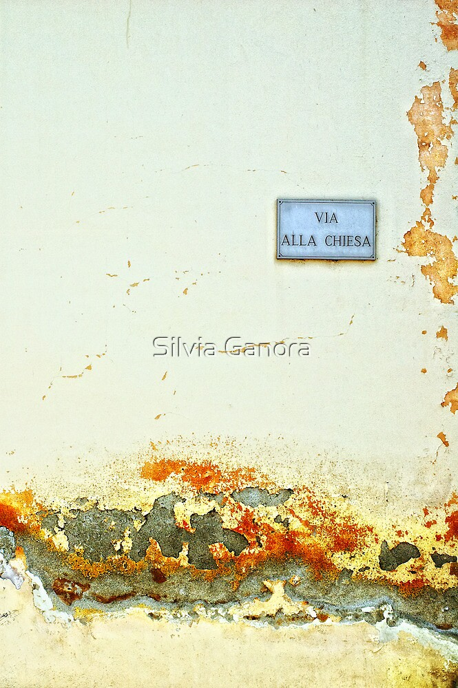 Via alla chiesa :: Church Street by Silvia Ganora