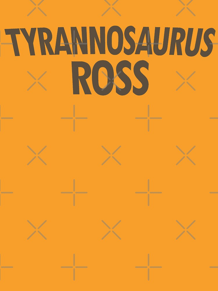 Tyrannosaurus Ross by expandable