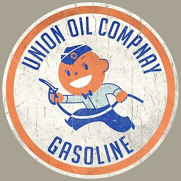 Vintage Union Oil Company Round Badge by Lidra