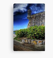 La Garita del Morro, Old San Juan, Puerto Rico Canvas Print