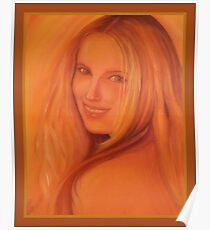 Beautiful Nati in the Sunlight Poster
