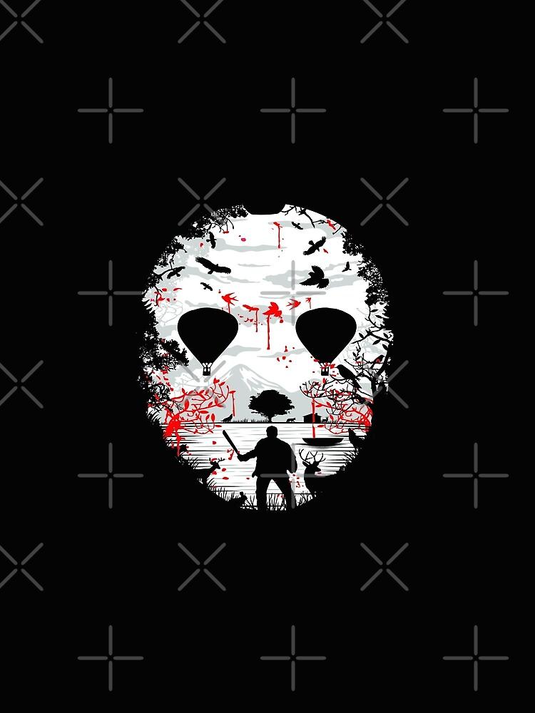 Halloween Memories of Crystal Lake Horror Movie by GarnetLeslie