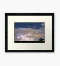 Stormy Starry Night Framed Print