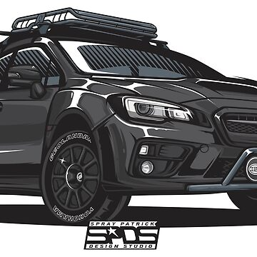 Subaru WRX STI (Dusti Demon) by SprayPatrick
