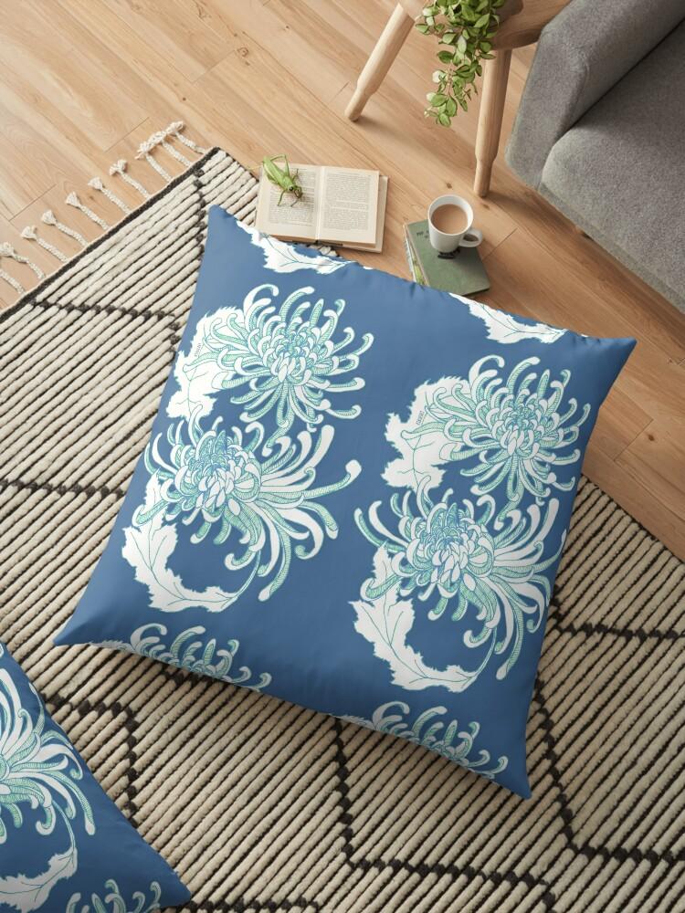 Chrysanthemum Infinity - Green by kikoeart