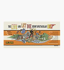 LIVE AND LET DIE STUNT SPECTACULAR Photographic Print