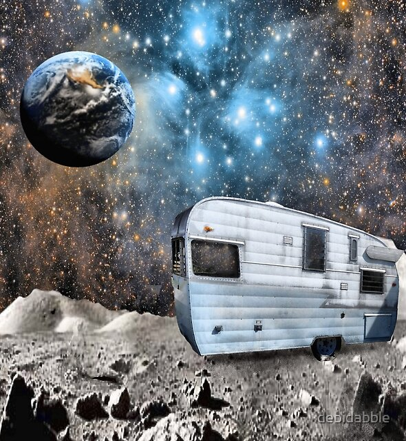 Space Camping by debidabble
