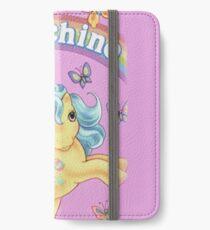 Pferd Moschino iPhone Flip-Case/Hülle/Klebefolie