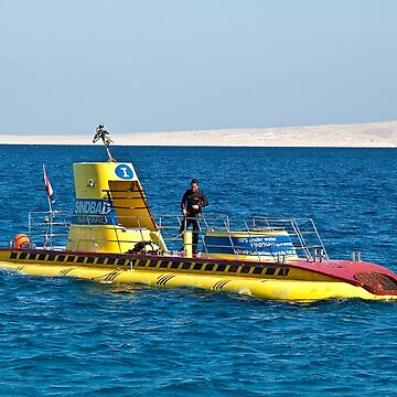 Egypt. Hurghada. Surfacing Submarine. by vadim19
