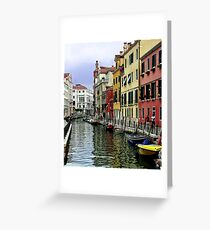 Colourful Waterways Greeting Card