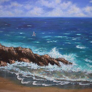 Ocean Blue by ArtbyDedeConrad