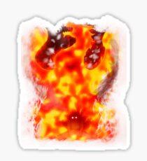 Natsu dragon slayer Sticker