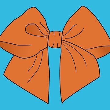 Pumpkin Vector Bow by LozMac