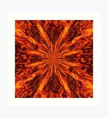 Born in Fire Art Print