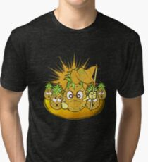 Funny Demo Pineapple Tri-blend T-Shirt