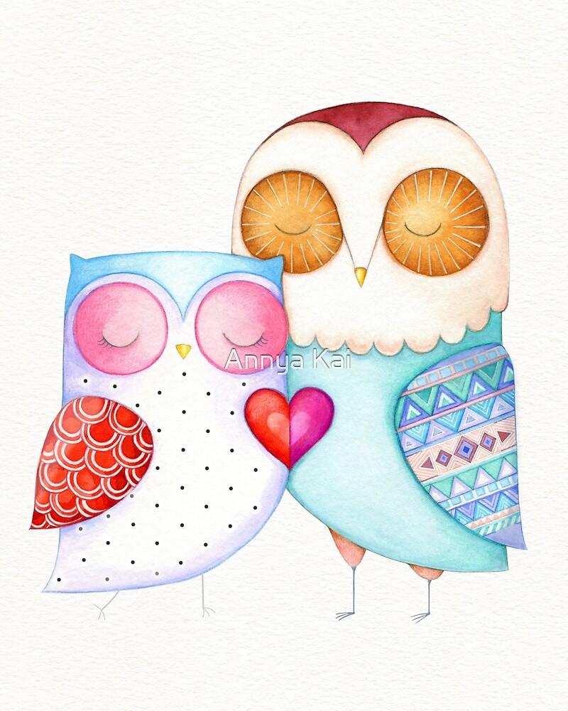 Love Birds  by Annya Kai