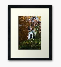 The House In The Hollow Framed Print