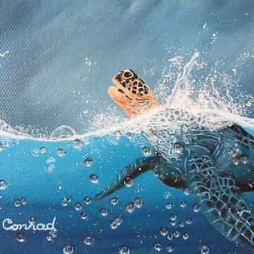 Life Tip #1:  Just Breathe by ArtbyDedeConrad