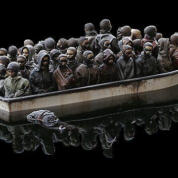 Refugees by DrTigrou