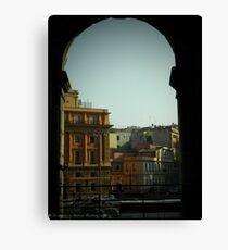 Rome - peekaboo Canvas Print