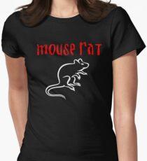 Maus Ratte Tailliertes T-Shirt