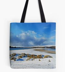 St Ninian's Isle in the Snow Tote Bag