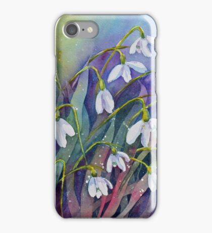 Snowdrops (Early Spring) iPhone Case/Skin