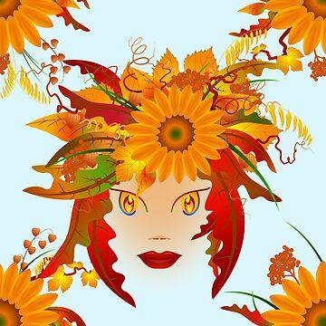 Autumn Fairy by FrauleinimStall