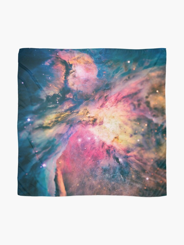Alternate view of The awesome beauty of the Orion Nebula  Scarf