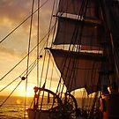 """""""Picton Castle - Nova Scotian Sunrise"""" by mattmaples"""