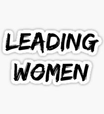 Leading Women Sticker
