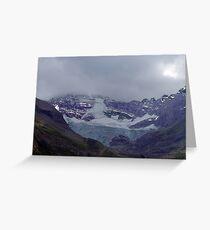 Snowpack,Maligne Lake Greeting Card