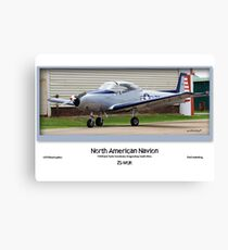 North American Navion ZS-WUK Canvas Print