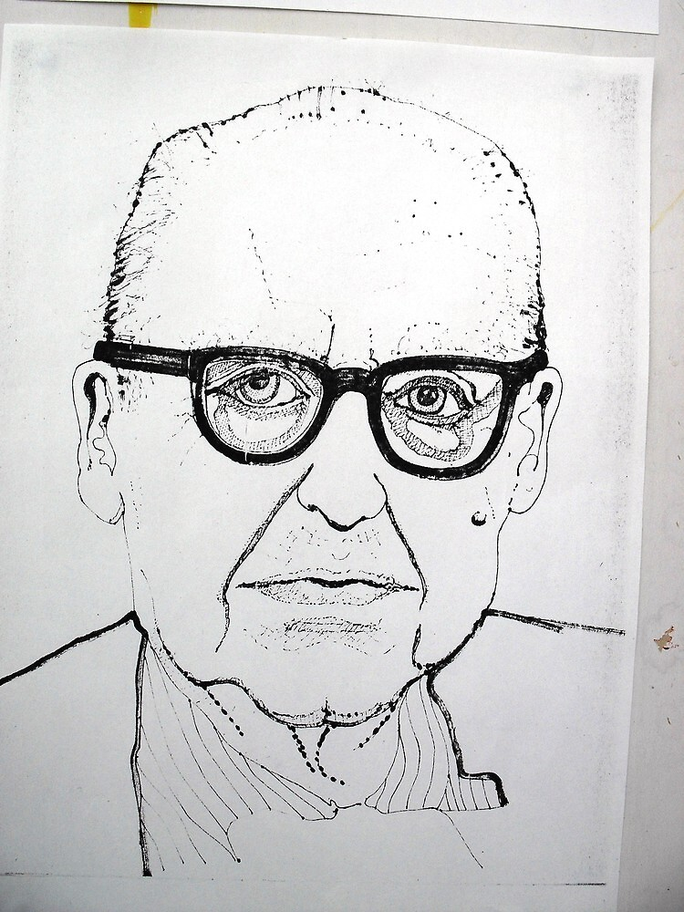 Portrait study 6 by Richard  Tuvey