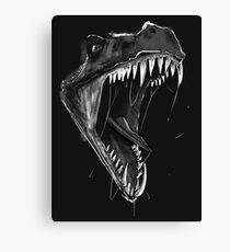 Inktober Day 6: Drooling Canvas Print