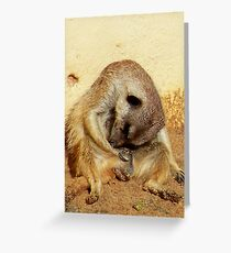 It's been a long day! Greeting Card