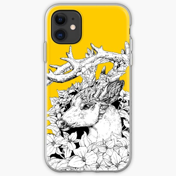 Non-typical Quartz Buck - Black and White iPhone Soft Case