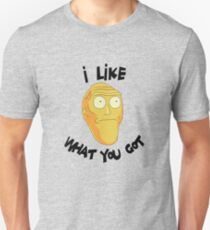 I Like What You Got - Rick and Morty Inspired Cromulan Slim Fit T-Shirt