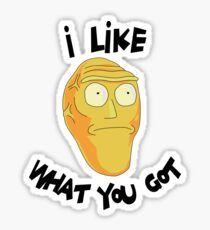 I Like What You Got - Rick and Morty Inspired Cromulan Sticker