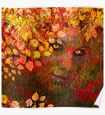 AUTUMNS CREEPING IN Poster