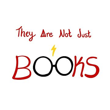 They Are Not Just Books  by photodelights