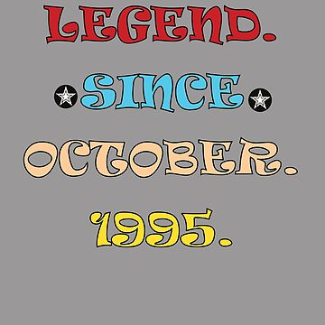 Legend Since October 1995 by AYmanee