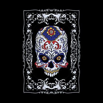 Dia de los Muertos - Sugar Skull by Ding-One