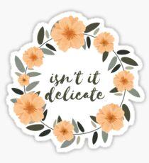 Delicate Sticker