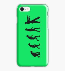 Evolution of Zombies (Zombie Walking Dead) iPhone Case/Skin