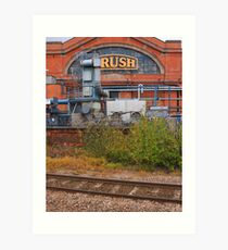 Industrial Leicestershire 09 Art Print